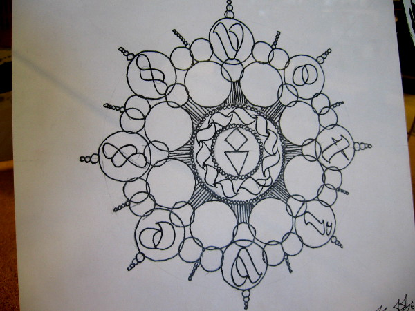 Circle Mandala, by Votive.