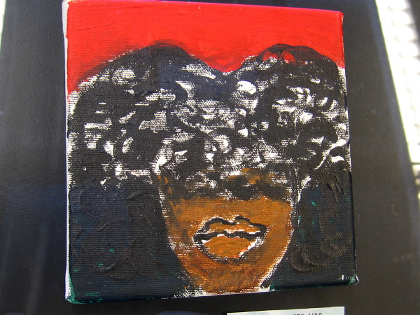 Woman With Afro, by Dominique H.