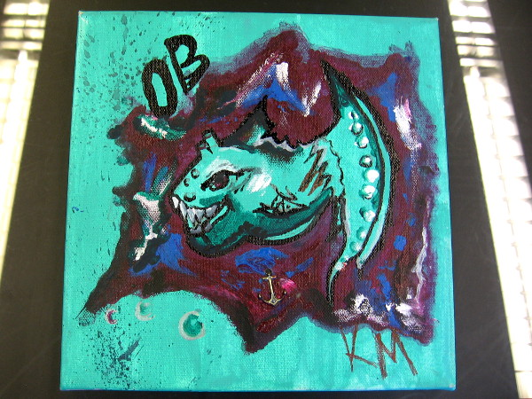 Teal Dragon, by Kayla.