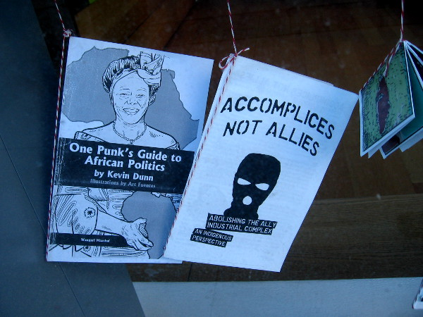 One Punk's Guide to African Politics. Accomplices Not Allies.