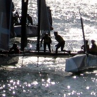 Photos of Extreme Sailing on San Diego Bay!