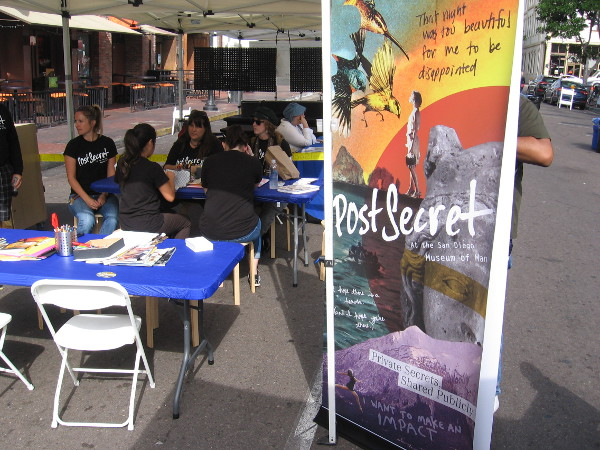 PostSecret is coming to the Museum of Man in Balboa Park on April 14, 2018.