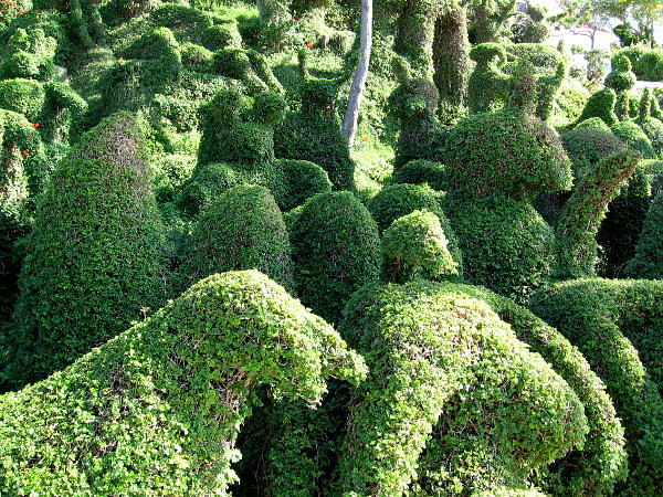 Harper's Topiary Garden is a marvel of human creativity.