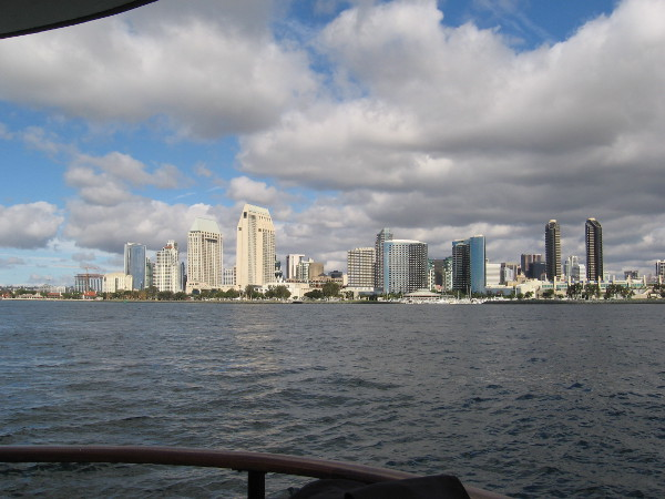 Photo of downtown San Diego from the Silvergate ferry.