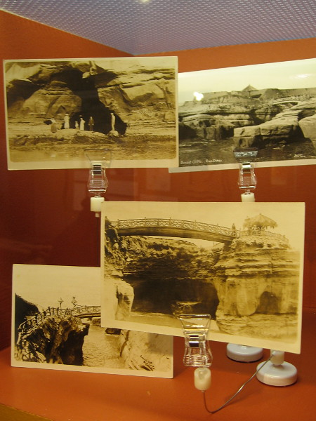 Local sea caves and coves in La Jolla and Sunset Cliffs were used at hideouts for rum runners arriving from Mexico during Prohibition.