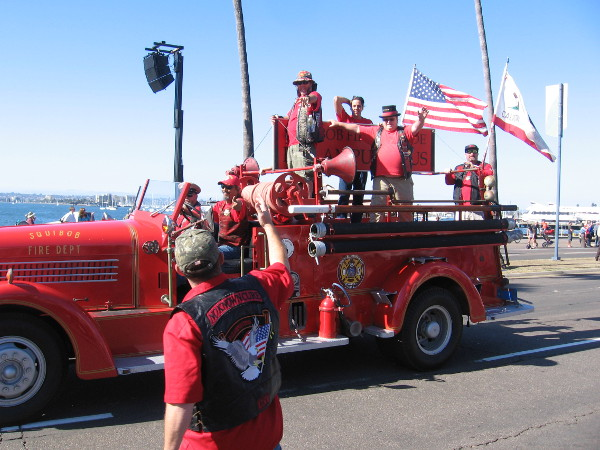 It's the fun Squibob Fire Department!