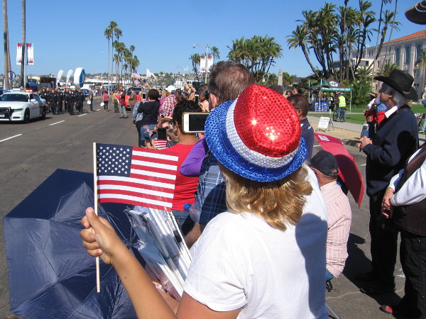 The 2017 Veterans Day Parade in San Diego brought pageantry and patriotism to the waterfront.
