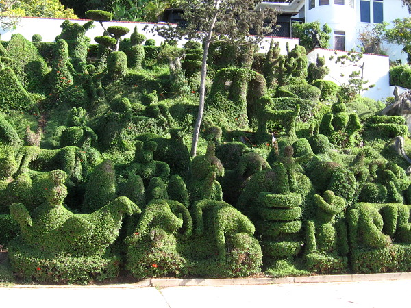 A most fantastic topiary garden. A treat for the eyes!