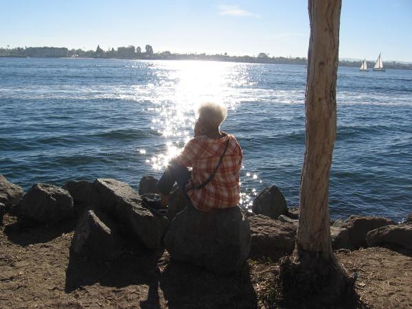 Light on water invites meditation.