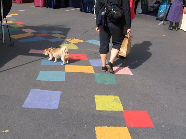 Should you find yourself in Balboa Park, do not hesitate to follow this magical path of many colors!