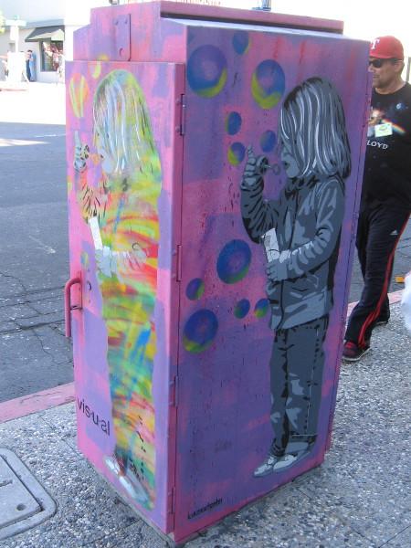 Fun street art in North Park, one of many cool neighborhoods in San Diego.