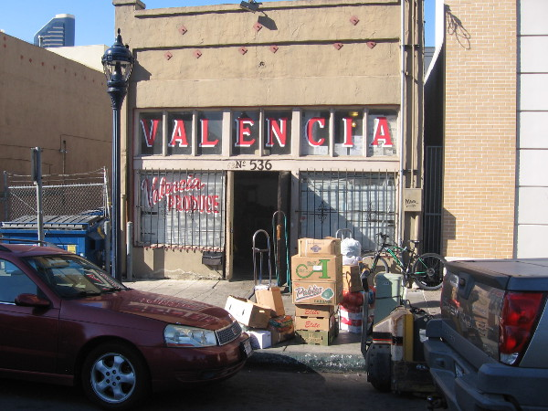 A small produce business in East Village.