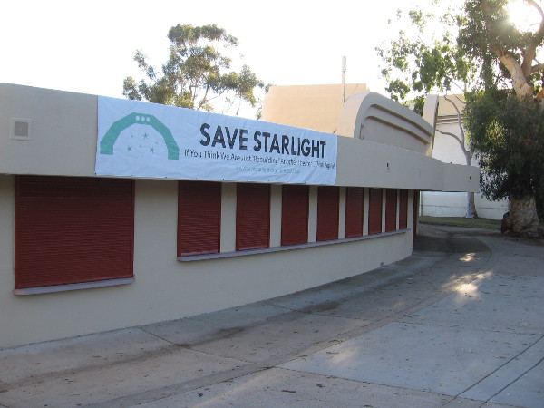 The effort to save the Starlight Bowl has made great progress! They finally have a Special Use Permit from the City of San Diego!