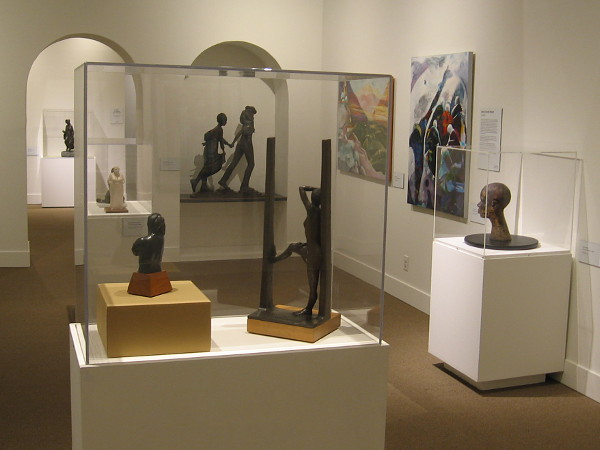 Legacy in Black, an exhibition of work by local African American artists, is now on display at the San Diego History Center in Balboa Park.