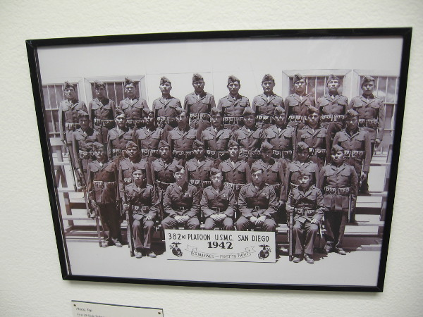First 29 Code Talkers of 382nd Platoon, 1942.