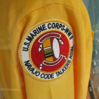 Navajo Code Talkers at Marine aviation museum.