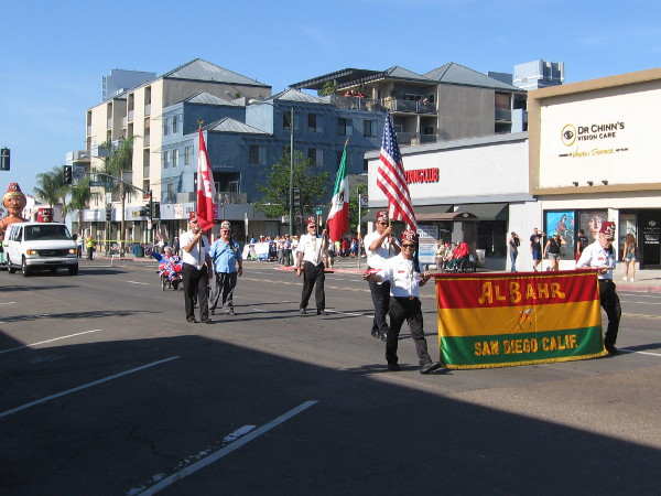 San Diego's Al Bahr Shriners seems to be in every parade around the city.