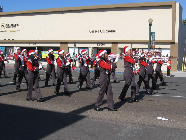 It's the Sweetwater High School Red Devil Corps!
