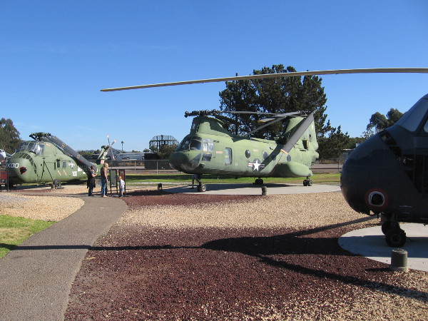 At the Flying Leatherneck Aviation Museum at MCAS Miramar, the public can see the helicopter that evacuated the U.S. Ambassador from Saigon at the end of the Vietnam War.