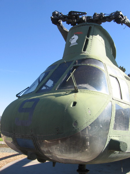 The nose of Lady Ace 09, which today is on display at the Flying Leatherneck Aviation Museum.