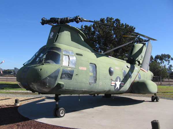 Boeing Vertol CH-46D(E) Sea Knight, call sign Lady Ace 09, the helicopter whose historic mission is often regarded as the conclusion of the Vietnam War.