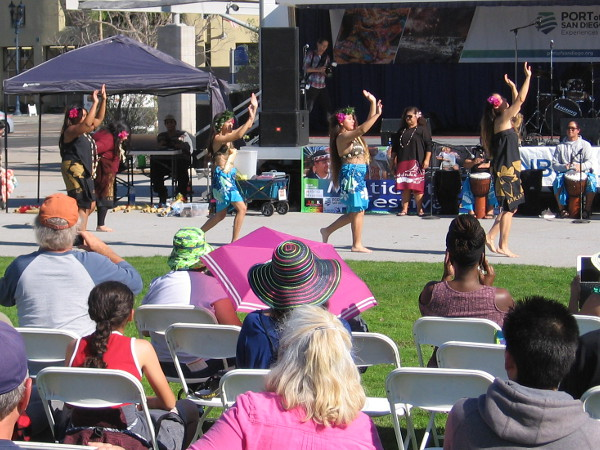 Entertainment on the main stage included the Micronesia dance group, Taico Japanese Drums and Soaring Eagles Native American Pow Wow.