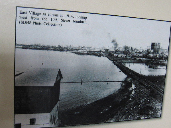 Old photo shows East Village as it was in 1914, looking west from the 10th Street terminal.