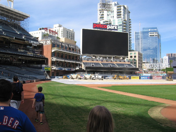 Ballpark tours of Petco Park include a behind-the-scenes and on-the-field look at the home of the San Diego Padres.