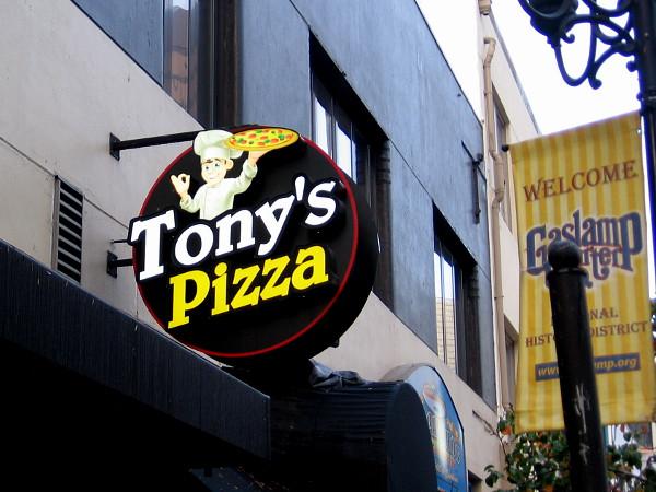 Shall I eat at Tony's Pizza?