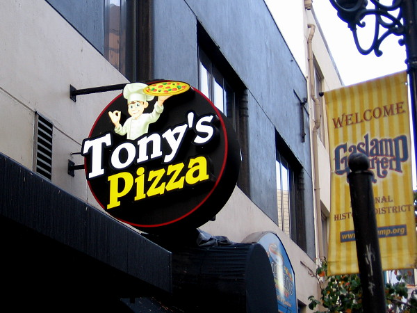 Shall I eat at Tony's Pizza?
