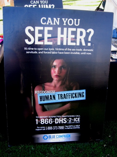 Can you see her? It's time to open our eyes. Victims of the sex trade, domestic servitude, and forced labor have been invisible, until now.