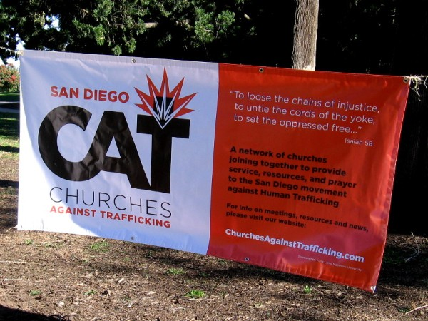 Churches Against Trafficking is a network of churches that provide service, resources and prayer in San Diego against human trafficking.