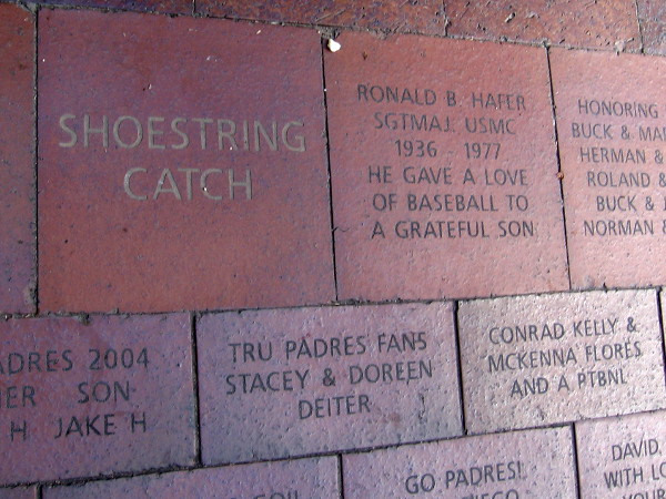Personalized bricks in the Palm Court Plaza were purchased by more than 10,000 fans when the ballpark was built. The bricks sold out in 5 minutes!