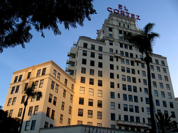 As I headed off to work early this morning, I felt compelled to walk down Seventh Avenue past the El Cortez.