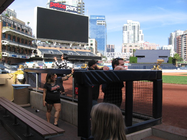 If you find yourself in San Diego, you should take a cool tour of Petco Park!