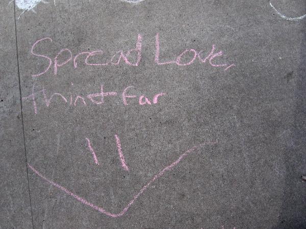 Spread love.