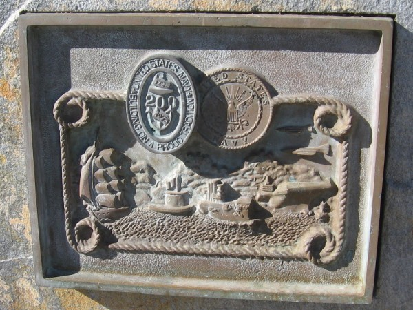 San Diego's historic Navy Bicentennial Commemorative Plaque has been cleaned!