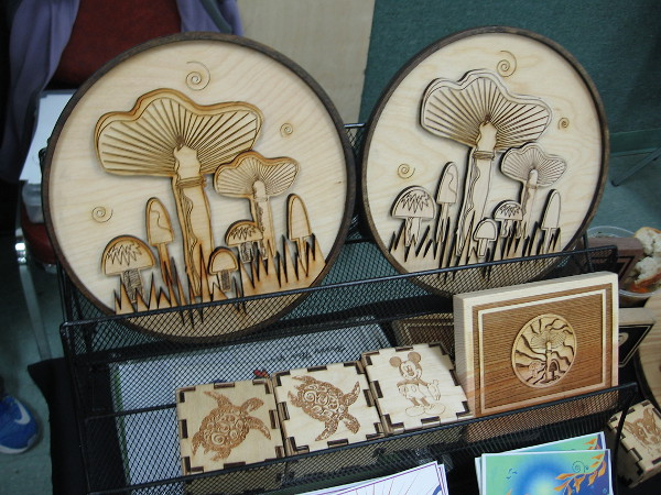 Cool mushroom artwork for sale.
