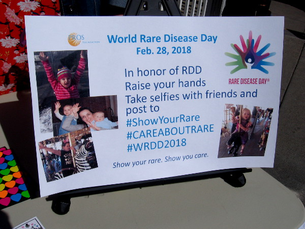 World Rare Disease Day is February 28, 2018. Show you care by spreading the word.