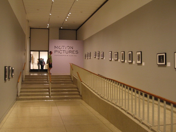 Motion Pictures, Photography by Gjon Mili, is a free to the public exhibition inside the San Diego Museum of Art's Gallery 15.