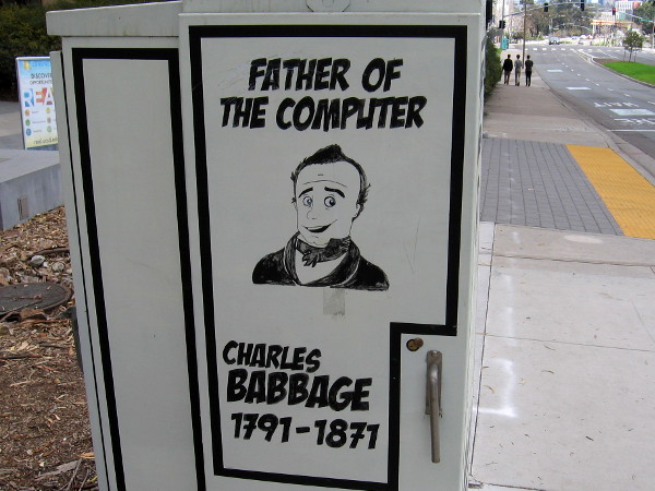 Father of the Computer, Charles Babbage, 1791-1871.
