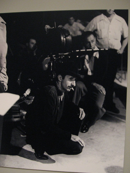 Gjon Mili on the set of Jammin' the Blues. Photographic reproduction, 1944.
