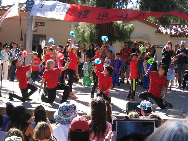 These cool kids of the Riverview International Academy Yo-Yo Team wowed the crowd with their amazing skill.