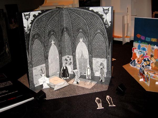 Edward Gorey's Dracula, a toy theatre!