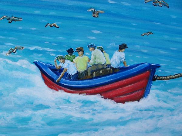 Murals cool san diego sights for Tuna fishing show
