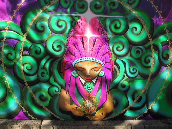 Amazing artwork that the public can see close up and in natural sunlight, not unlike the fantastic murals of Chicano Park!