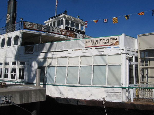 The beautiful Berkeley is hub of the Maritime Museum of San Diego. The vessel houses many exhibits, and hosts special events and education programs.