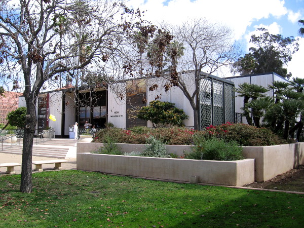 The Timken Museum of Art in Balboa Park is designed to be filled with natural light.