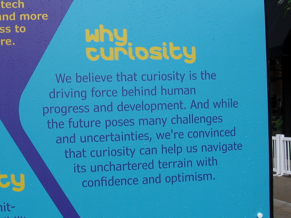 How is curiosity a driving force behind human progress and development.