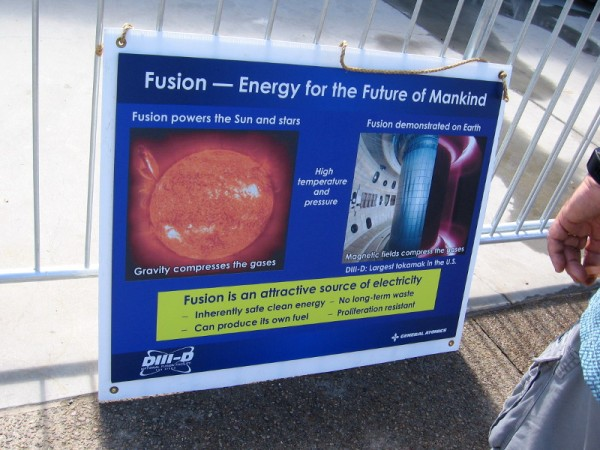 Is fusion the energy for the future of mankind.